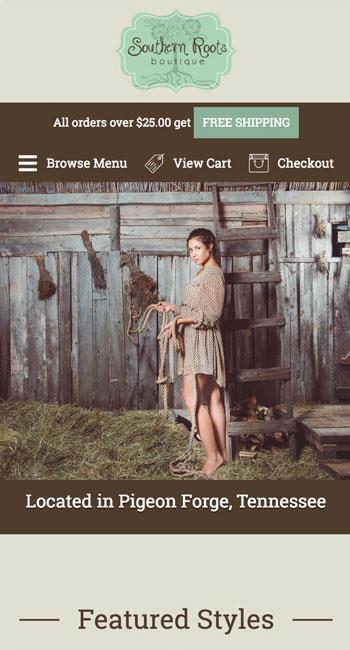Pigeon Forge, Tennessee Website Design