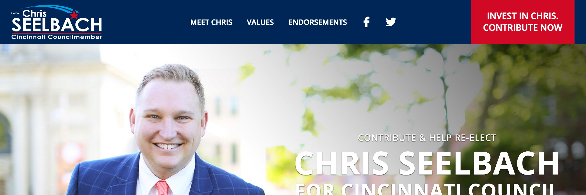 Chris Seelbach For Cincinnati Council