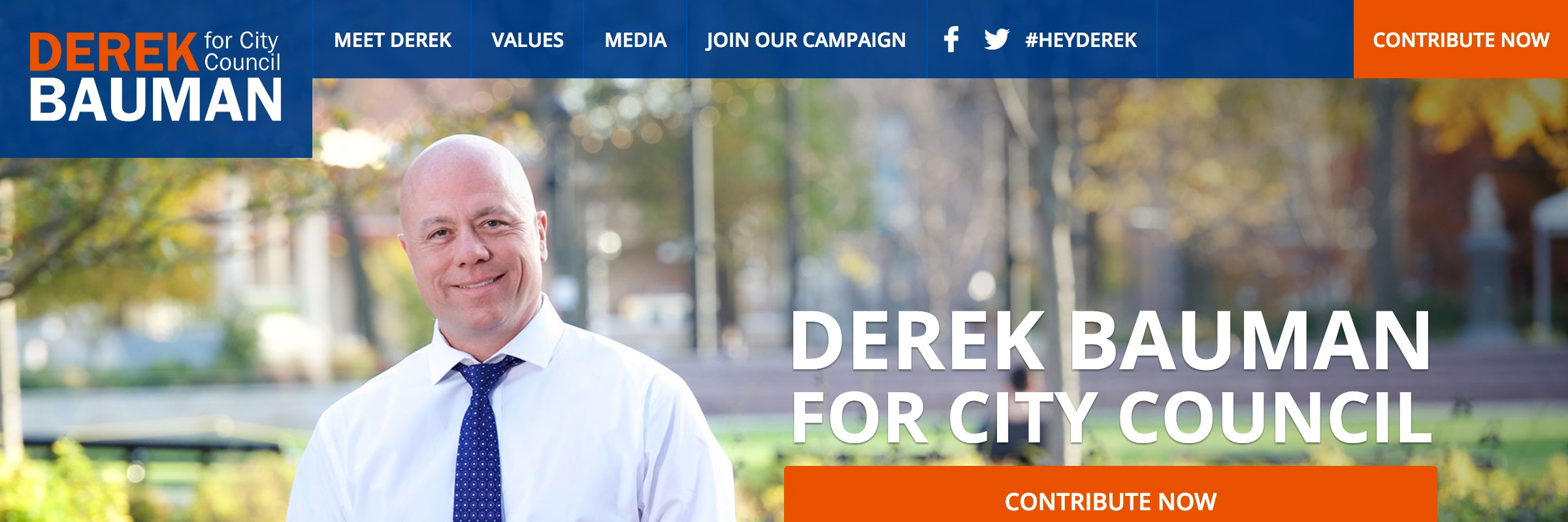 Derek Bauman For Cincinnati Council