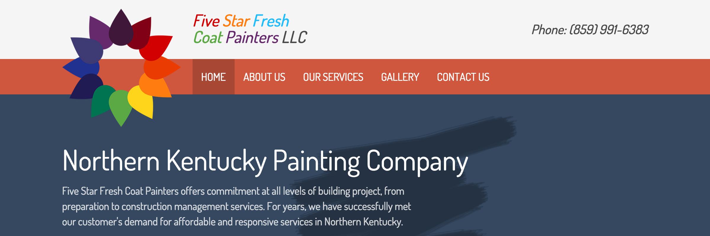 Five Star Fresh Coat Painters, LLC