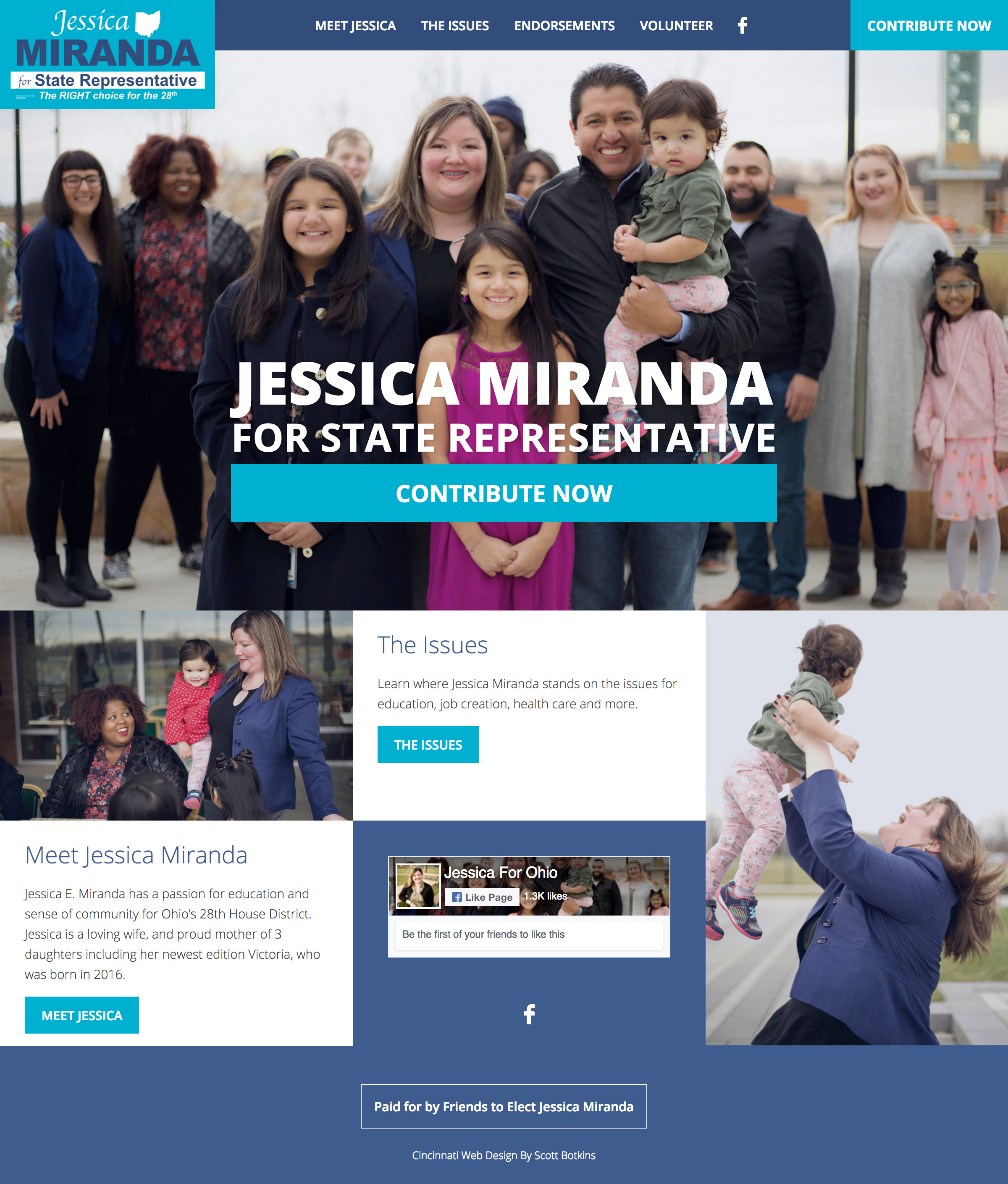 Jessica Miranda For State Representative
