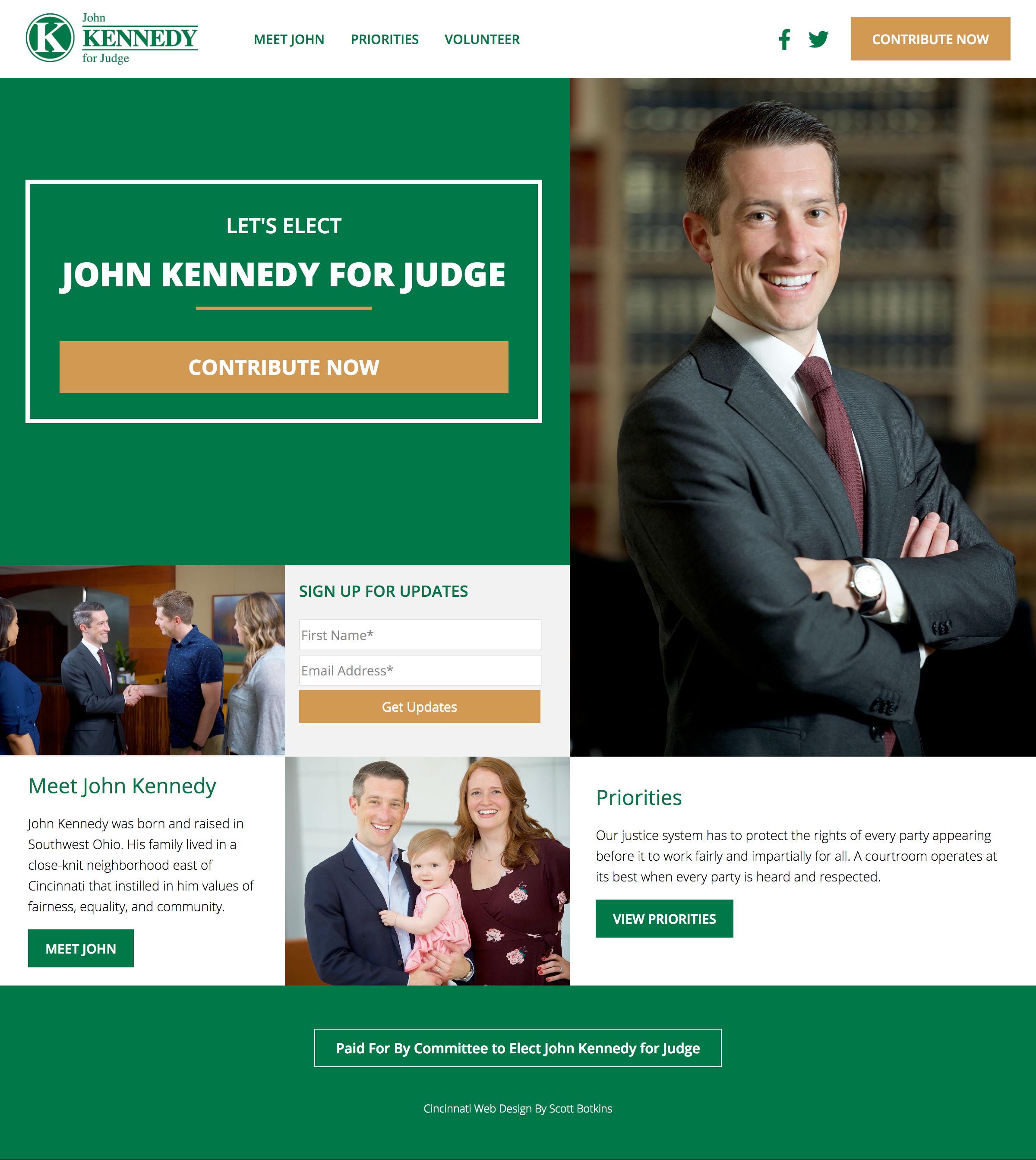 John Kennedy For Judge