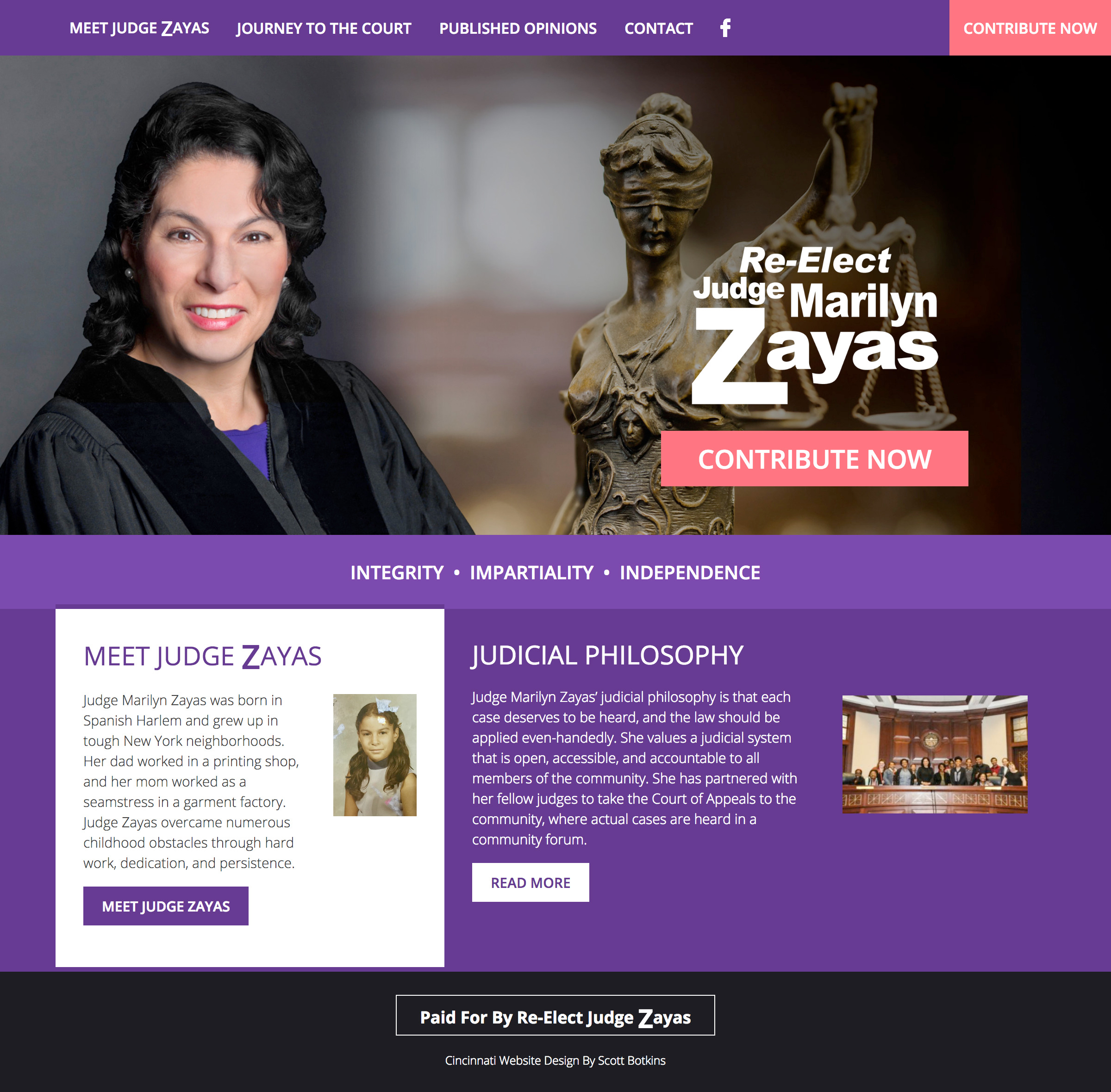 Judge Marilyn Zayas