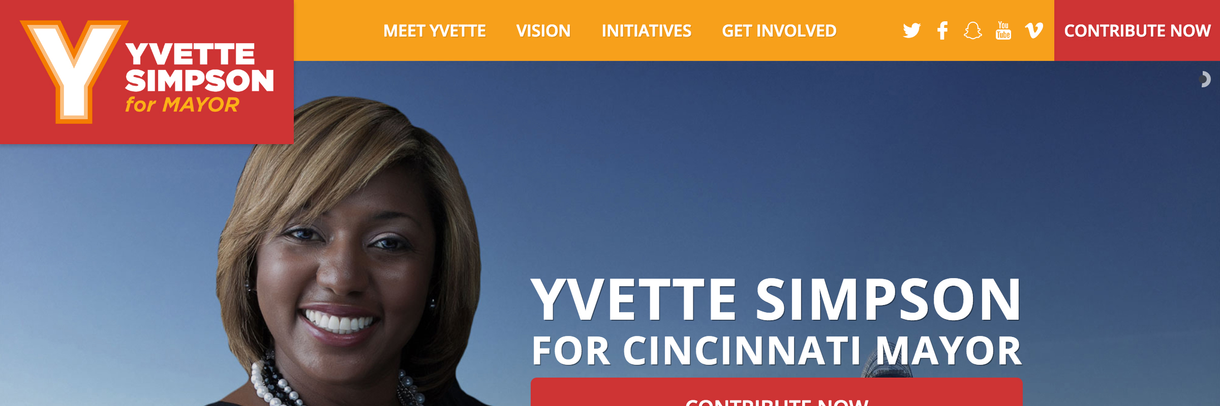 Yvette Simpson For Cincinnati Mayor