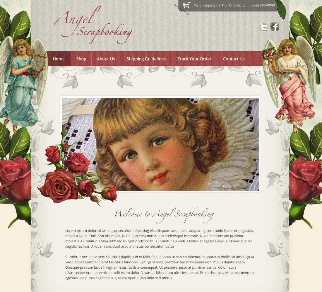 Angel Scrapbooking