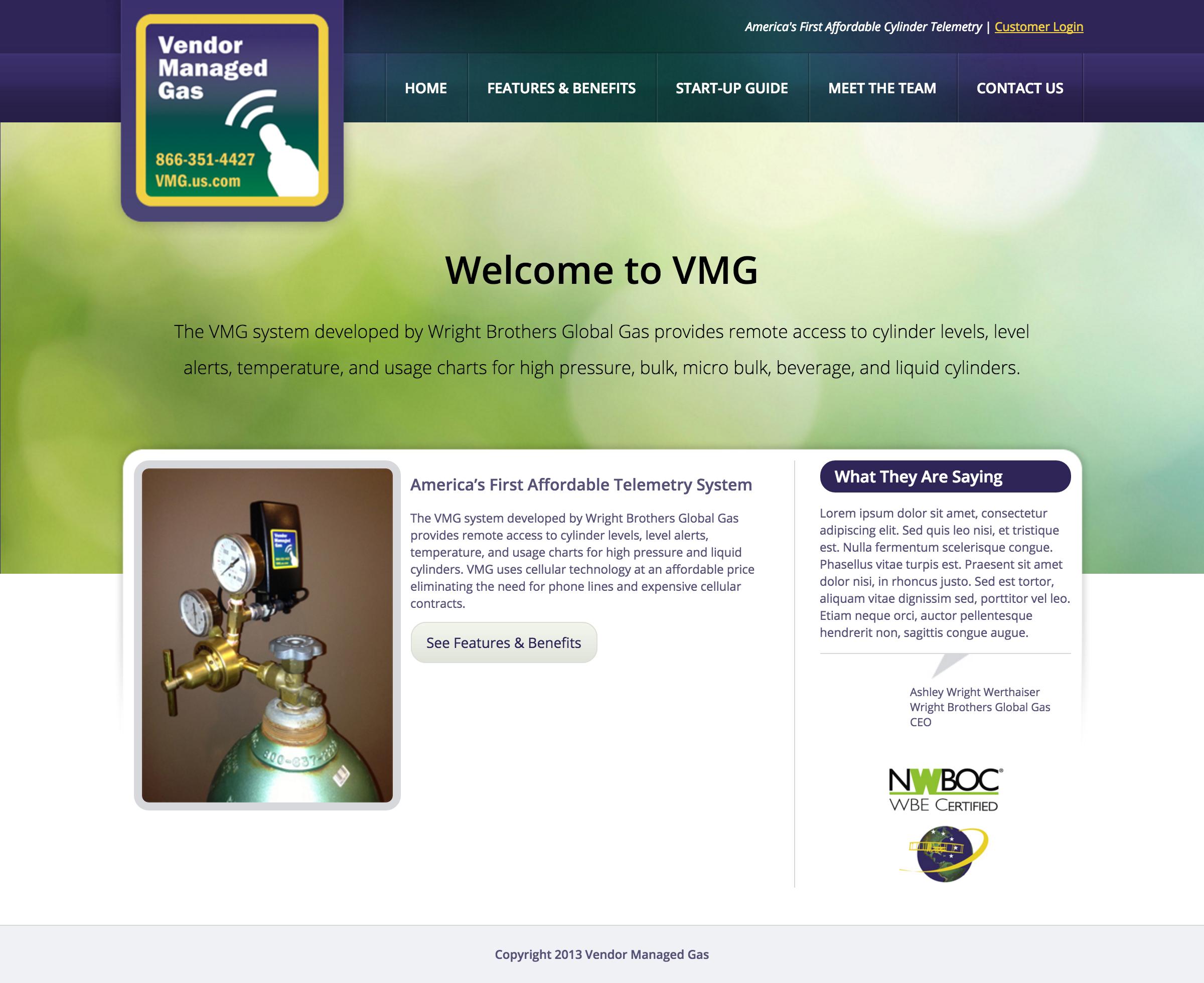 Vendor Managed Gas
