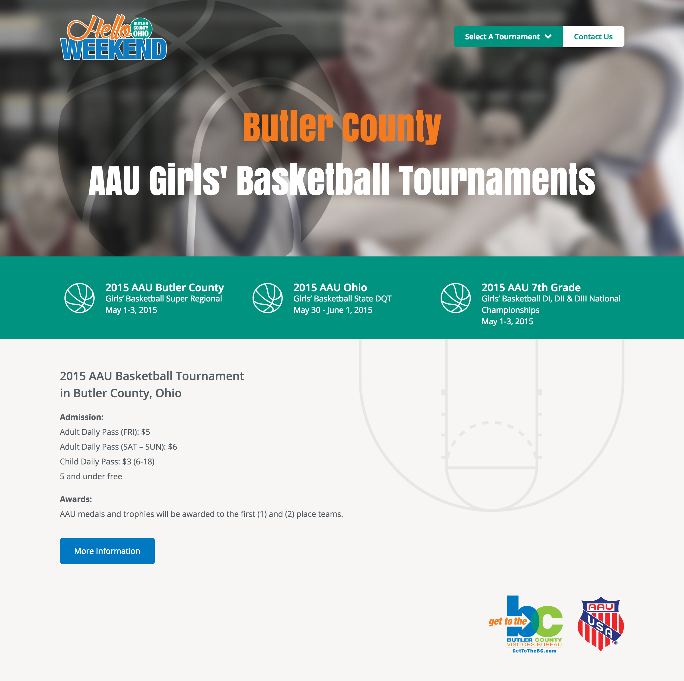 AAU in Butler County 2015