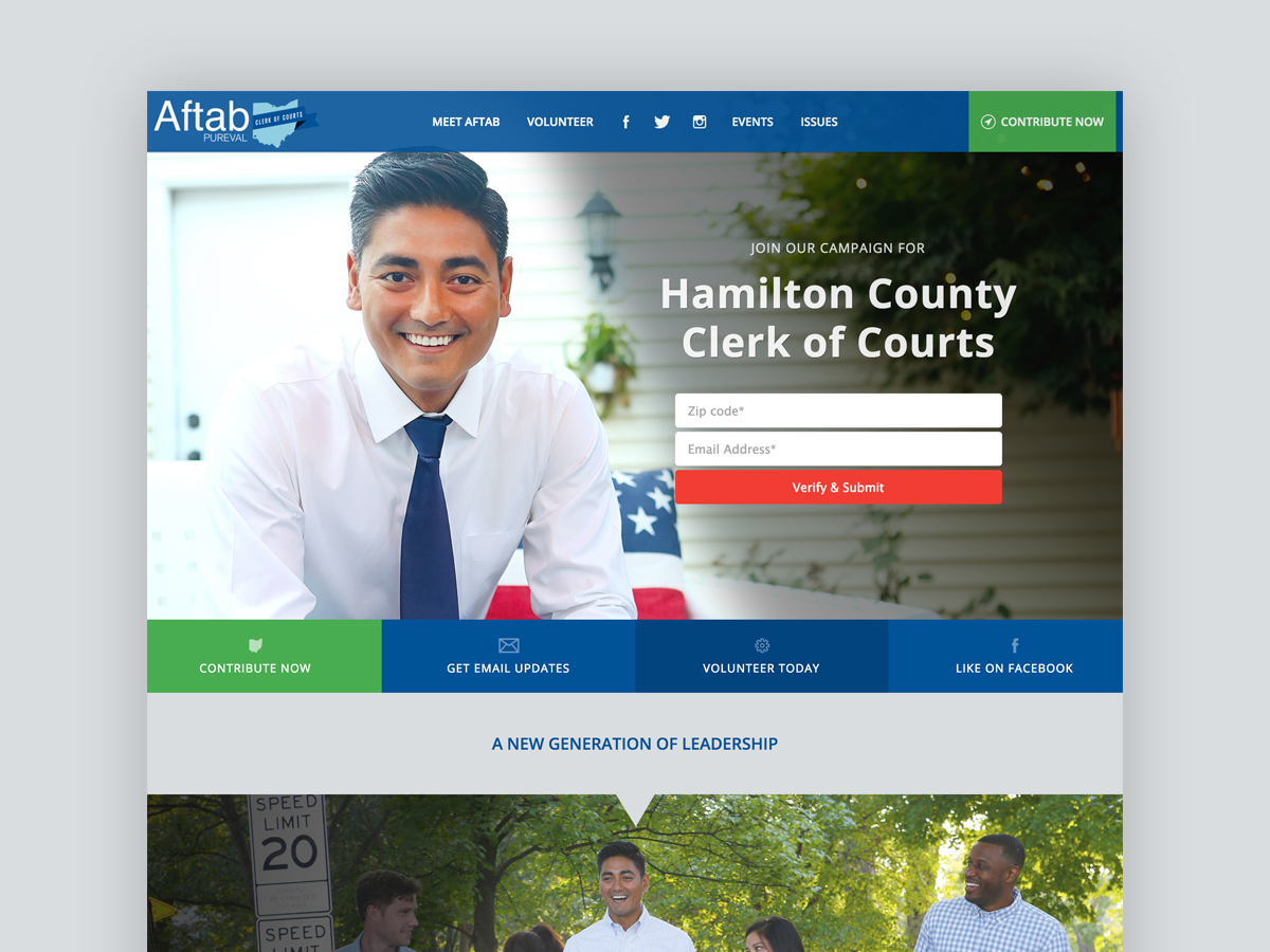 Aftab Pureval For Clerk of Courts