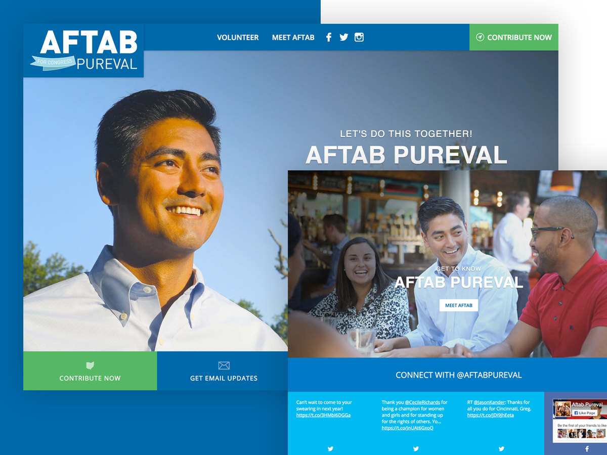 Aftab Pureval For Congress