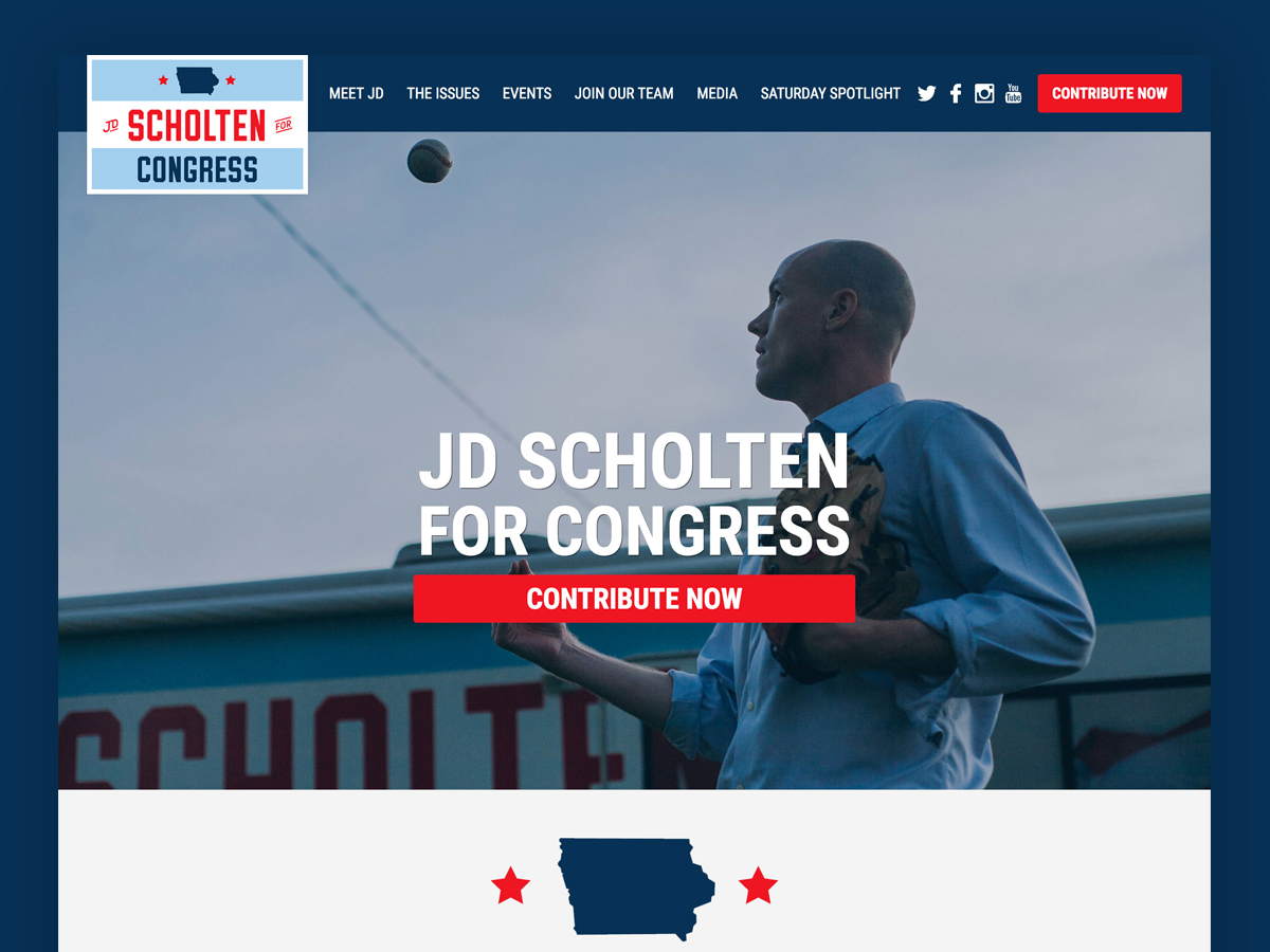 J.D. Scholten For Congress