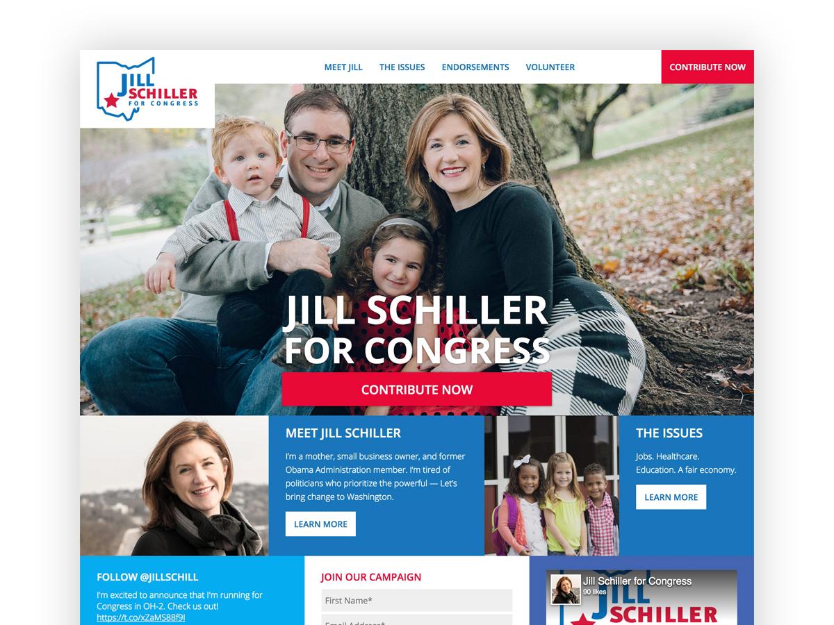 Jill Schiller For Congress