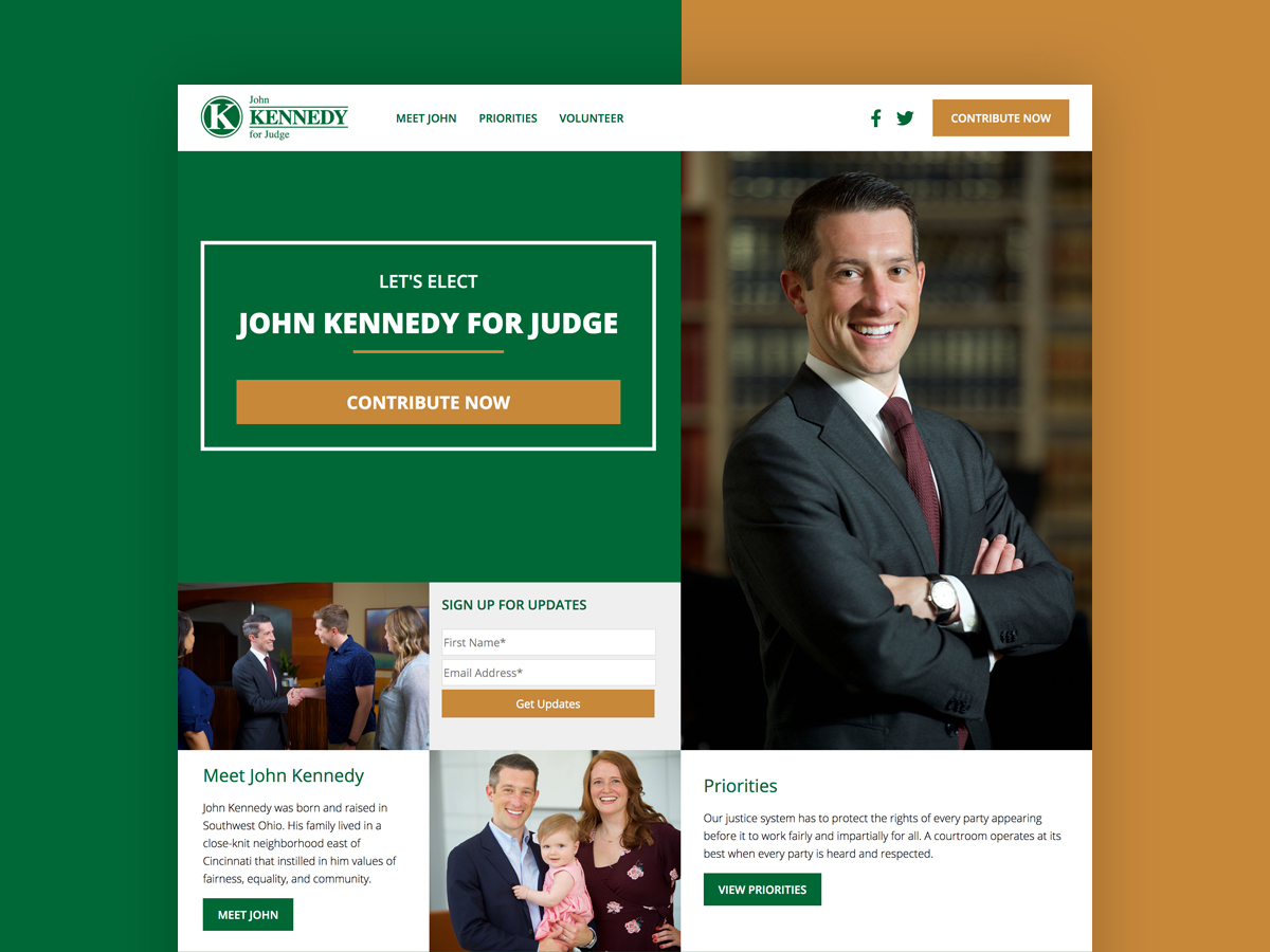John Kennedy For Judge