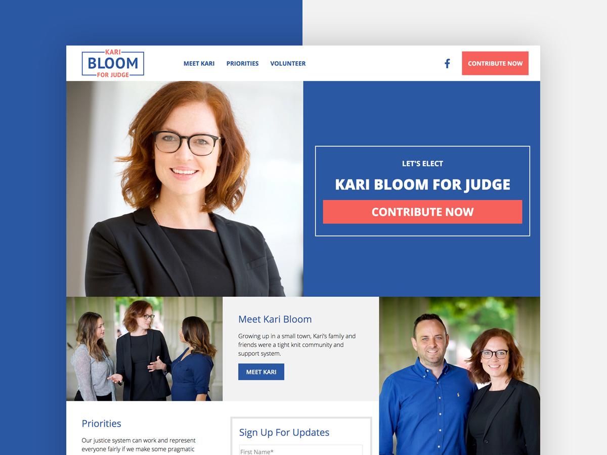 Kari Bloom For Judge
