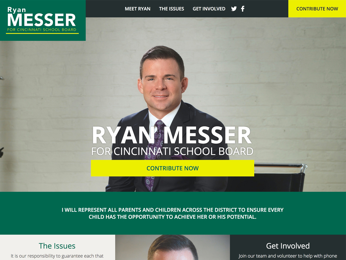 Ryan Messer For Cincinnati School Board