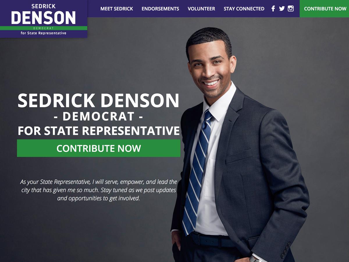 Sedrick Denson For State Representative