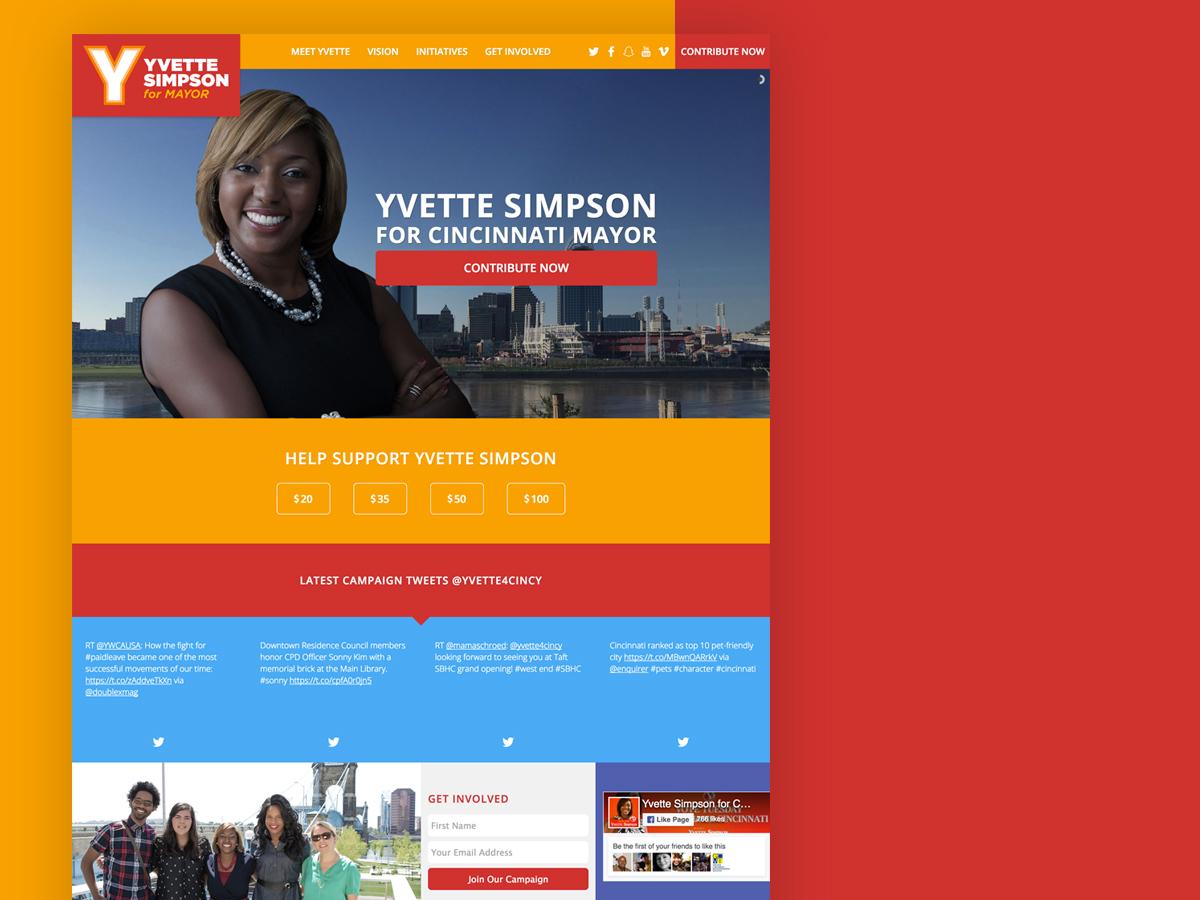 Yvette Simpson For Cincinnati Mayor